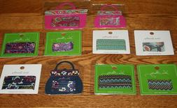NWT Vera Bradley 15 HAIR PINS  AND 8 HAIR ELASTICS  Lot Set