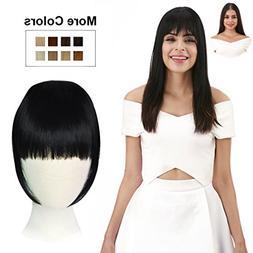 REECHO Fashion One Piece Clip in Hair Bangs/Fringe/Hair Exte