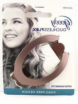 GOODY OUCHLESS COMFORT FLEX UPDO HAIR BARRETTE - BROWN