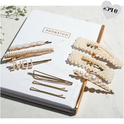 Pearl Hair Clip - 9 Hair Accessories for Women - Word Bobby
