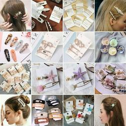 Pearl Hair Clip Stick Hairband Comb Bobby Pin Barrette Hairp