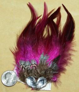 Pink Burlesque Feather Tribal Belly Dance Dancing Hippie Got