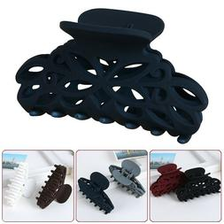 Plastic Hair Claw Clamps Clips Style Fashion Accessory For W