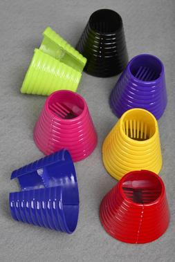 PLASTIC HAIR PONYTAIL CONE HOLDER JAW CLIP CLAMP TIE - CHOIC