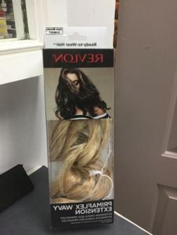 "REVLON PRIMAFLEX WAVY 18"" HD Clip-in Hair Extension, Dark Bl"