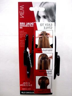 Vidal Sassoon Pro Series Clip & Braiding Aid Dual Use Brown