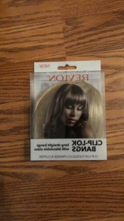 Revlon Readyto Wear Hair Clip-Lok Bangs Dark Blonde