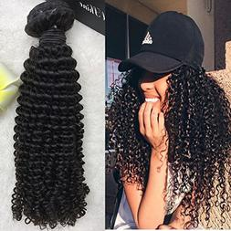 Full Shine 16 inch Remy Jerry Curl Hair Extensions Brazilian