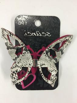 Scunci Butterfly Hair Barrette Clip Choose from 2 Different