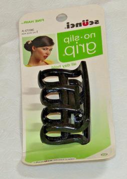 scunci no slip grip hair jaw clip