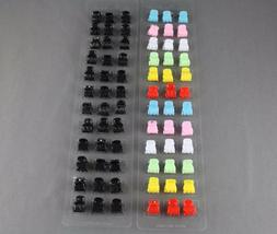 Set Pack of 36 small tiny hair clips alligator claw clamp cl
