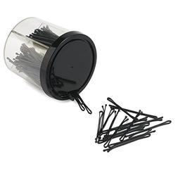 200PCS Slim Bobby Pins, 50MM Invisible Metal Hair Clips, Bru
