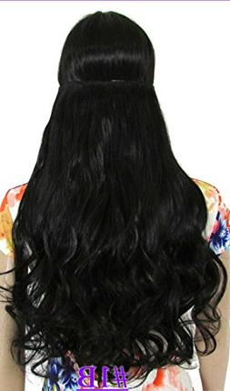 SMILE 24inch  130g body wave 5 clips on hair extension hot r