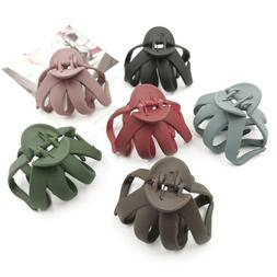 Solid Geometric Hollowing Large Hair Claw Crab Clamp Hair Cl