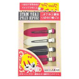 Lady Mate Super Hair Clips 2 / 6 Packs  of No Mark Pin Curl