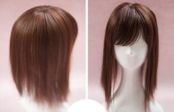 synthetic hair mono topper