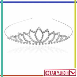 tiara crown headband hairband hair clip loop