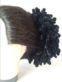 USA Volumising Scrunchie Maxi Hair Ring Bun Clip Hijab Scarf