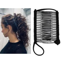 Vintage Banana Hair Clip Christmas Hair Accessory Stretchabl