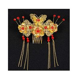 Vintage Chinese Bridal Wedding Hair Accessories Hair Pins we