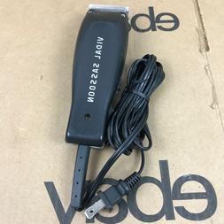 Vidal Sassoon VS VSCL802  Black Professional Hair Trimmer Cl