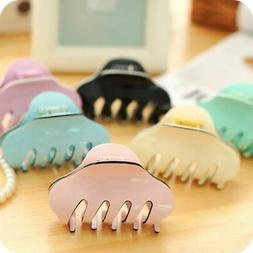 Women Acrylic Hair Claw Jaw Clips Barrette Crab Clamp Hair A