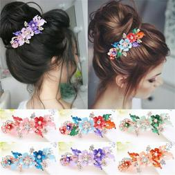 Women  Headwear Accessories  Flower Barrettes  Cute Hairpin