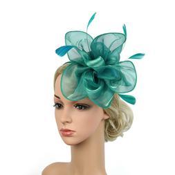 Women's Fascinator Hat Ladies Day Cocktail Tea Party Headban
