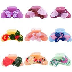 Women's Hair Claw Clamps Clips Butterfly Claw Clamp Banana C