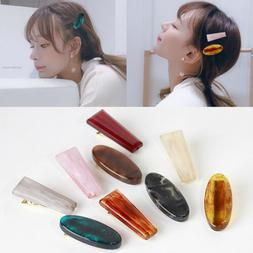 Women's Hair Accessories Barrette Colorful Resin Alloy Allig