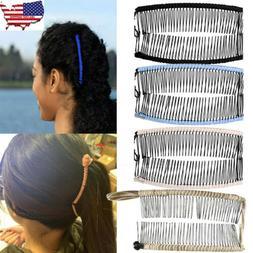 Women Vintage Banana Hair Clip Christmas Hair Accessory Stre